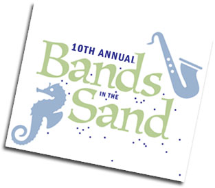 Bands in the Sand Logo