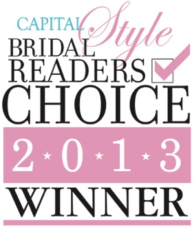 Capital Bridal Readers Choice Winner 2013 Logo