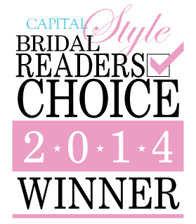 Capital Bridal Readers Choice Winner 2014 Logo