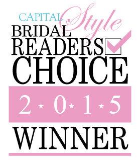 Capital Bridal Readers Choice Winner 2015 Logo