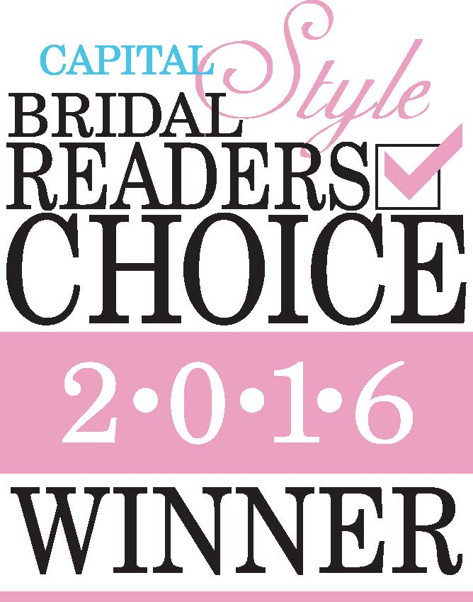 Capital Bridal Readers Choice Winner 2016 Logo